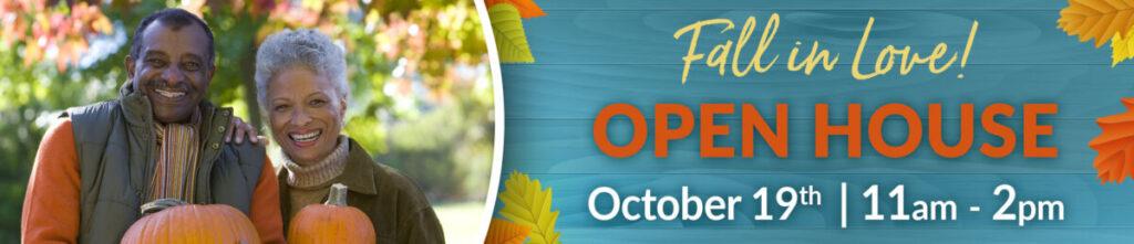 October Open House Banner