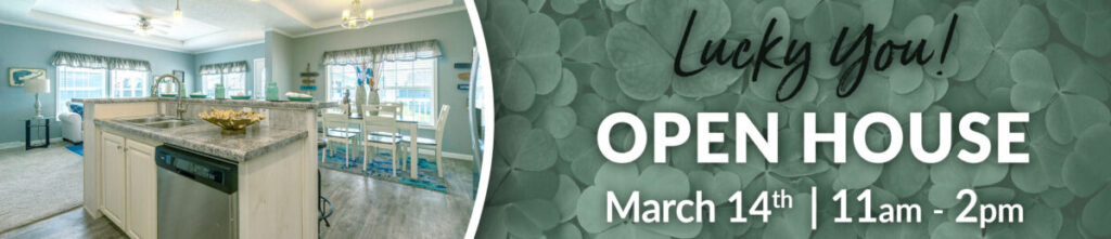March 14 Open House